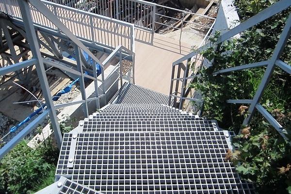 Скай Парк. Лестница