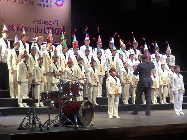 Всесоюзных хоровых игр.  Хор мальчиков из Екатеренбурга