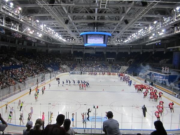 Всероссийский детский спортивно-оздоровительный центр. Открытие