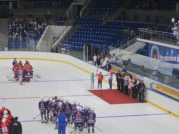 Всероссийский детский спортивно-оздоровительный центр. Речи
