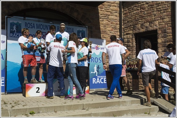 Гонка Rosa Mountain Race. Награждение2