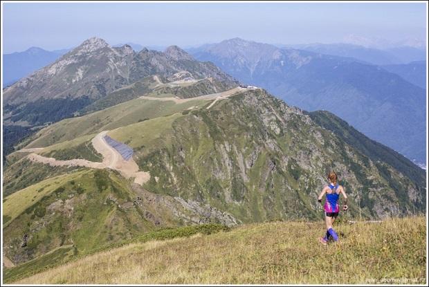 Гонка Rosa Mountain Race. Вершины