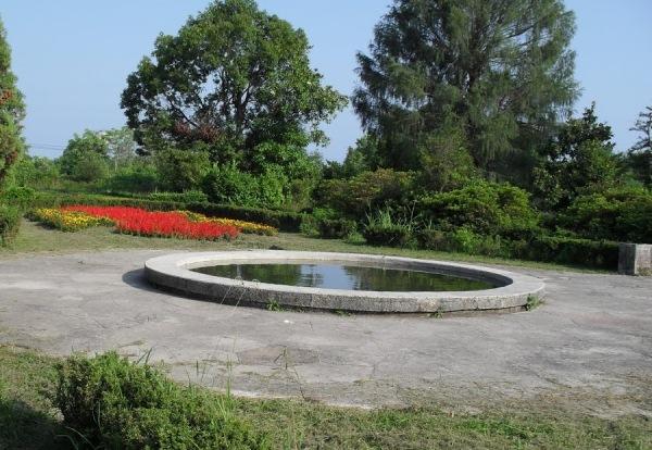 Парк Южные культуры. Фонтан