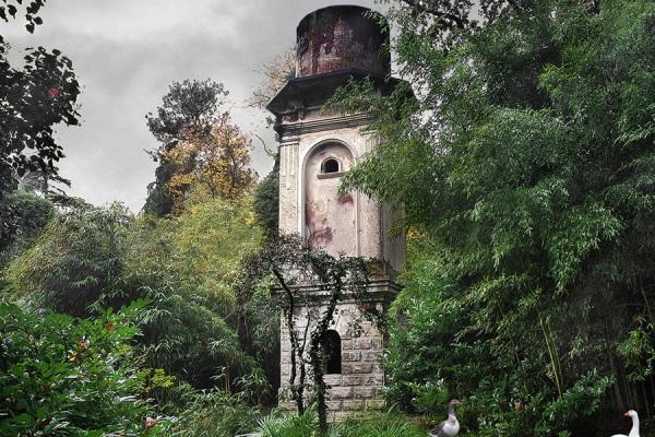 Парк Южные культуры. Водонапорная башня