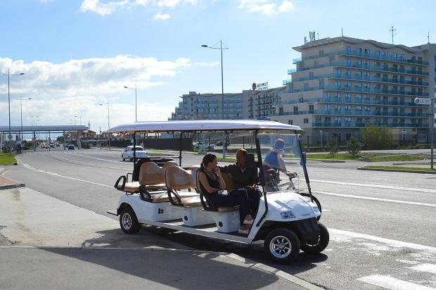 Автомобильный музей в Олимпийском парке. Гольф-кар