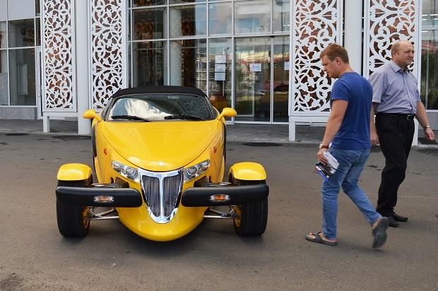 Автомобильный музей в Олимпийском парке. Музей