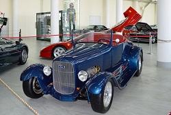 Автомобильный музей в Олимпийском парке.2