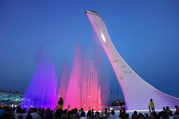 Мюзикл Огни большого города. Олимпийский огонь