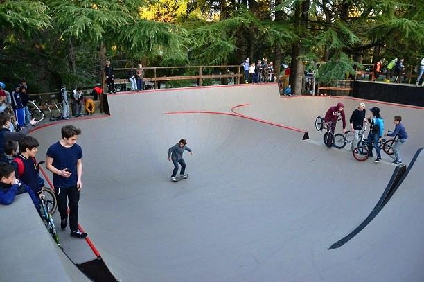 День города Сочи. Новый скейт-парк