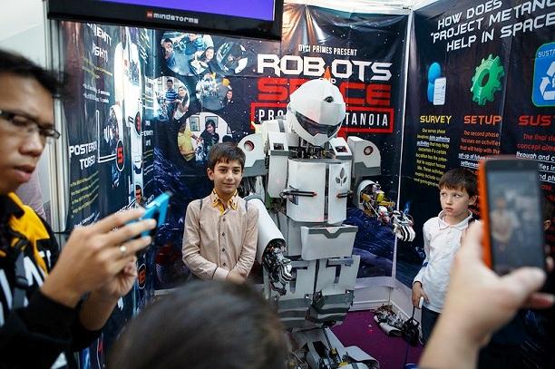 День города Сочи. Олимпиада по робототехнике