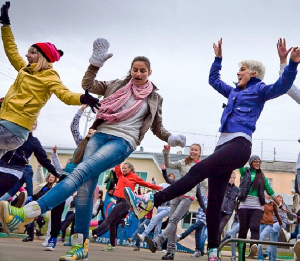 День города Сочи. Танцевальный флешмоб
