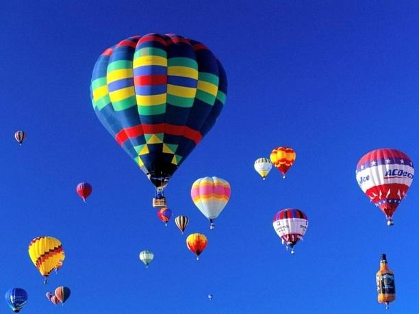 День города Сочи. Воздушные шары