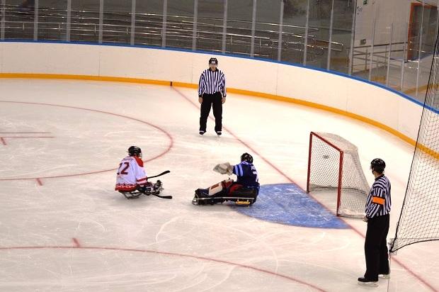 Следж-хоккей. Буллит