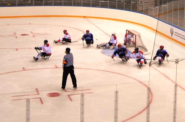 Следж-хоккей. Сочи