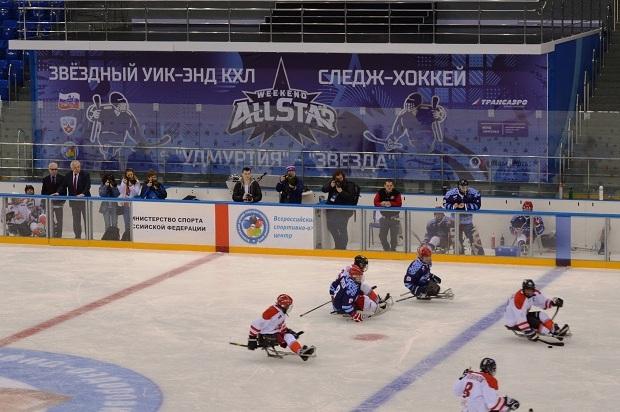 Следж-хоккей. Звездный уик-энд КХЛ