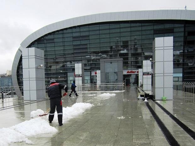 Снег в Сочи. Почти сугробы