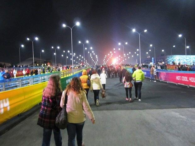 Сочи, год после игр. Дорога к Олимпийскому огню
