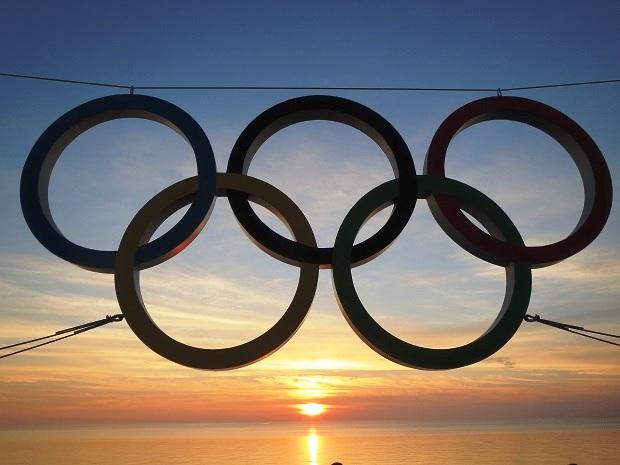 Сочи, год после игр. Олимпийские кольца