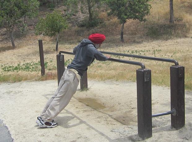 Санта-Клара. Фитнес в парке