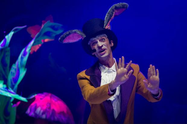 Мюзикл Алиса в Сочи Парке. Мартовский заяц