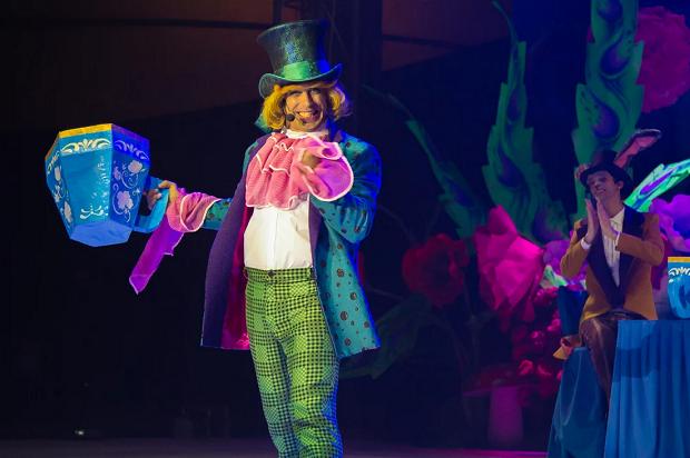 Мюзикл Алиса в Сочи Парке. Шляпник