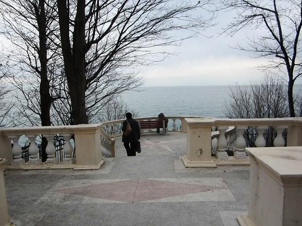 Терренкур в Сочи. Смотровая площадка