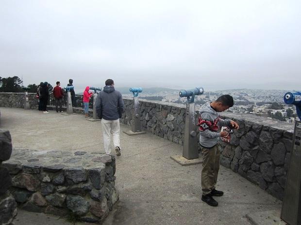 Сан-Франциско. Твин Пикс. Телескопы