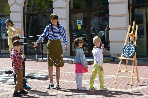 День Победы в Красной Поляне. Дети2