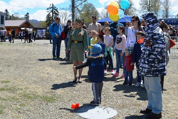 День Победы в Красной Поляне. Курс молодого бойца