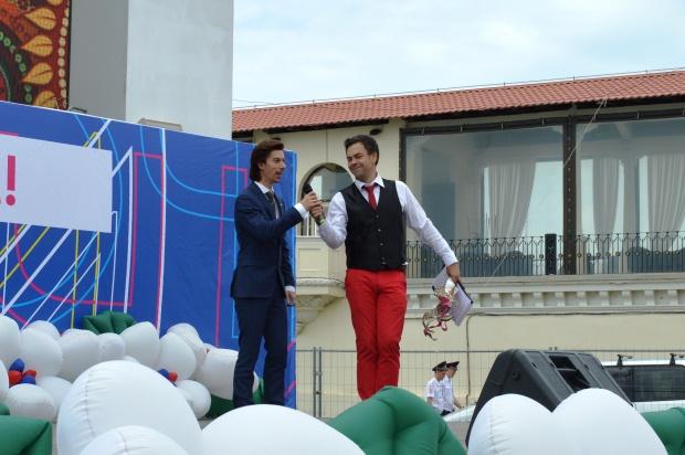 Конкурс карнавальных костюмов в Сочи. Георгий Кот