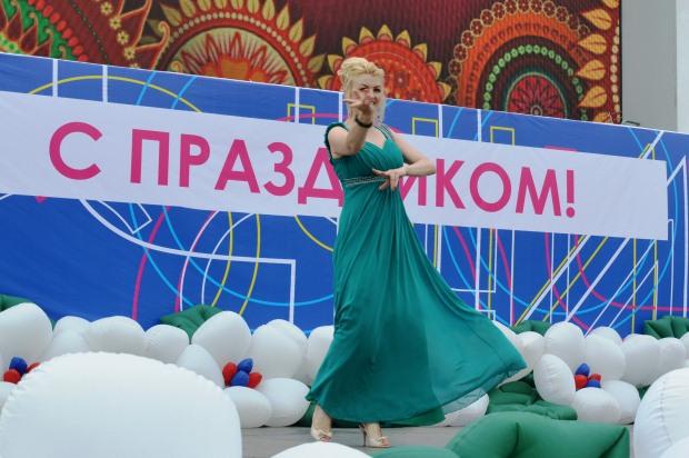 Конкурс карнавальных костюмов в Сочи. Гречанка