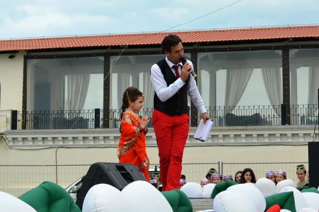 Конкурс карнавальных костюмов в Сочи. Индианка