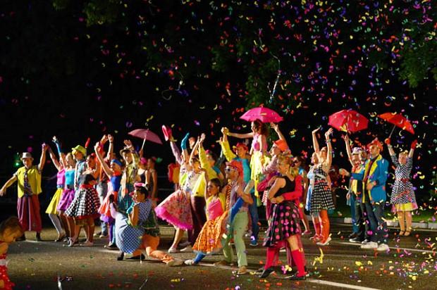 Конкурс карнавальных костюмов в Сочи. Карнавал10