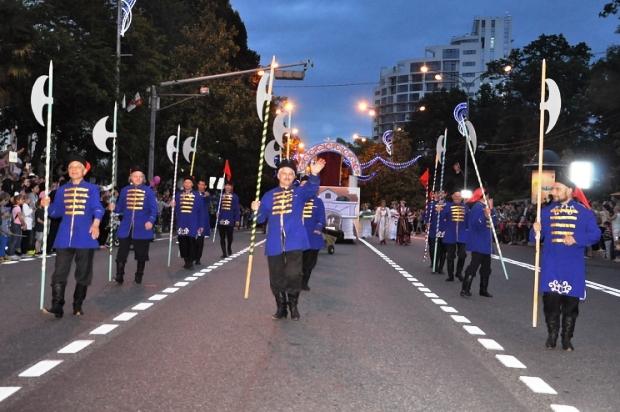 Конкурс карнавальных костюмов в Сочи. Карнавал3