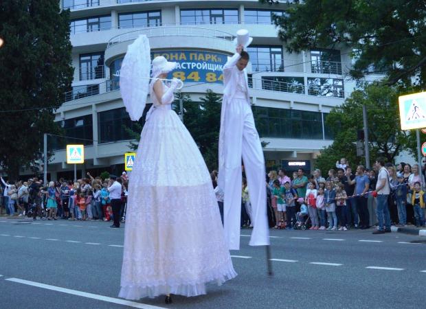 Конкурс карнавальных костюмов в Сочи. Карнавал4