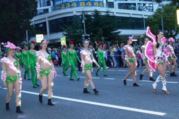Конкурс карнавальных костюмов в Сочи. Карнавал5