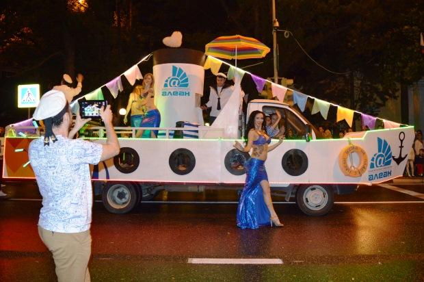 Конкурс карнавальных костюмов в Сочи. Карнавал7