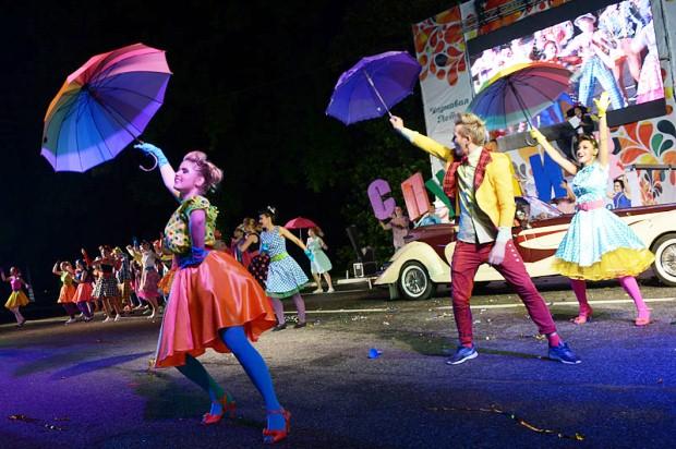 Конкурс карнавальных костюмов в Сочи. Карнавал9
