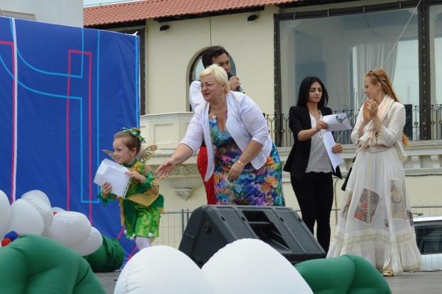 Конкурс карнавальных костюмов в Сочи. Награждение