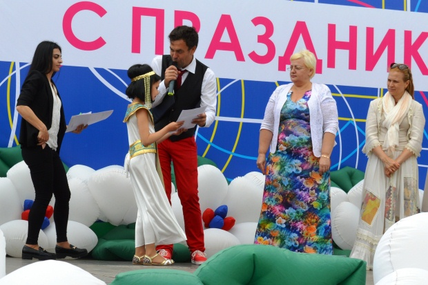 Конкурс карнавальных костюмов в Сочи. Награждение4