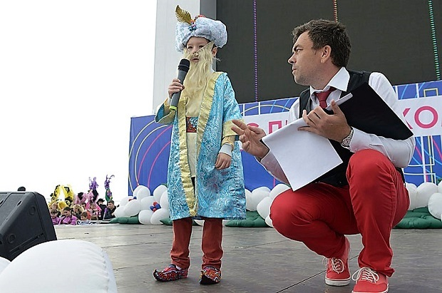 Конкурс карнавальных костюмов в Сочи. Старик Хоттабыч