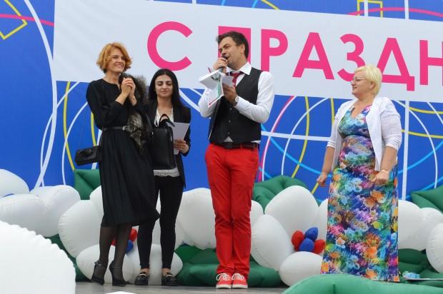Конкурс карнавальных костюмов в Сочи. Валерия Барсова