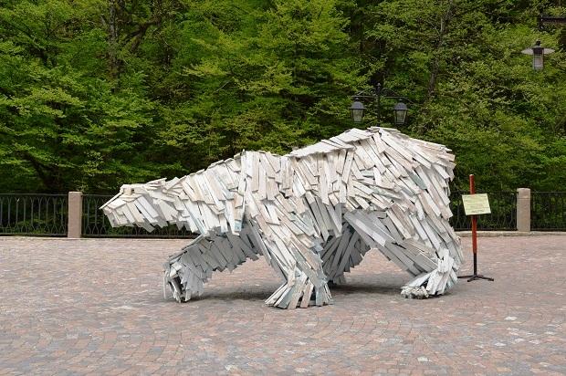 Культурно-этнографическом центре «Моя Россия». Медведь