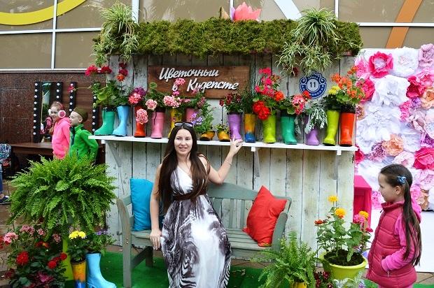 Праздник цветов в Сочи. Цветочный в Кудепсте.