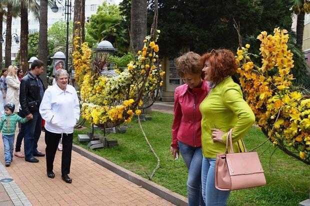 Праздник цветов в Сочи7