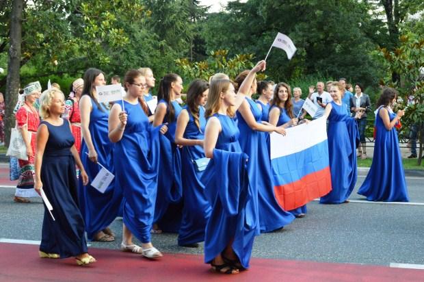 Vsemirnye khorovye igry v Sochi. Parad natsiy19