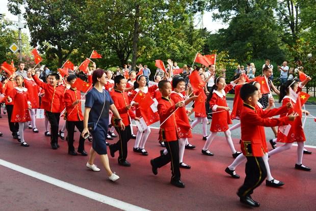 Всемирные хоровые игры в Сочи. Парад наций2