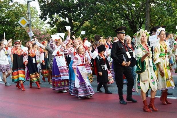 Vsemirnye khorovye igry v Sochi. Parad natsiy21