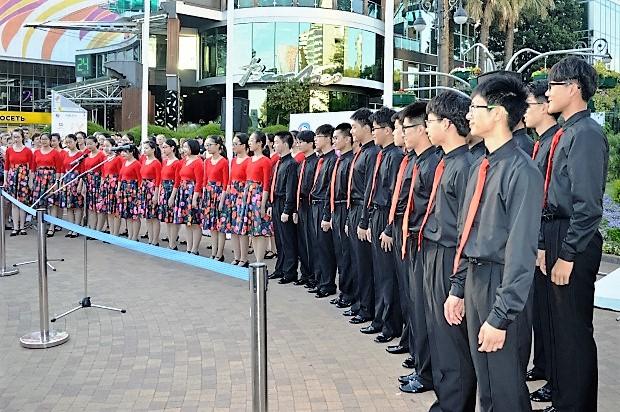 Всемирные хоровые игры. Хор из Китая