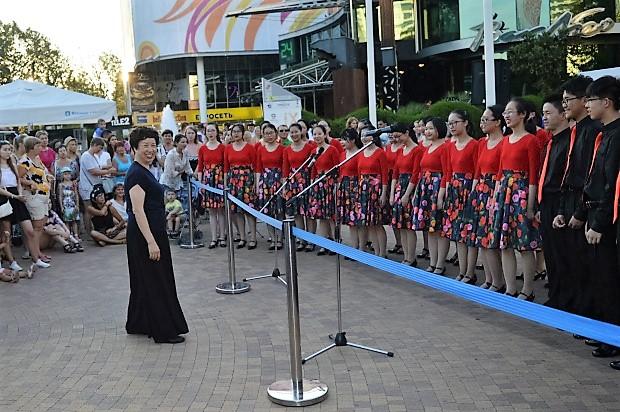 Всемирные хоровые игры. Хор из Китая2